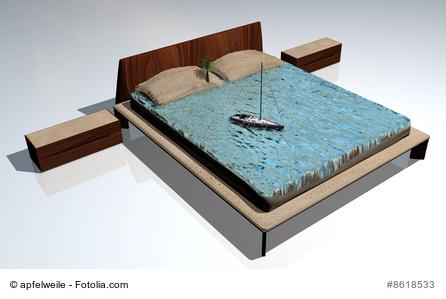 wasserbetten wie gesund sind sie. Black Bedroom Furniture Sets. Home Design Ideas